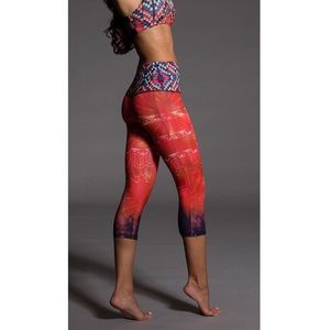 Onzie High Rise LED Graphic Capris